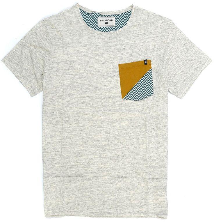 T-Shirt Billabong SHIFTY Bone
