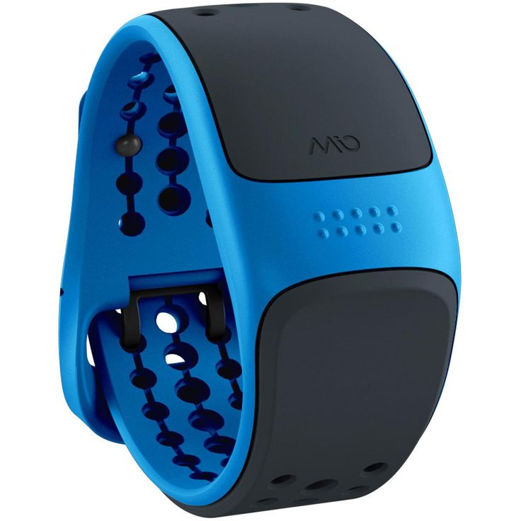 MIO GLOBAL Velo Cycling Heart Rate Band/Tracker - Blue