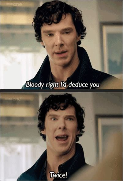 This is the best Sherlock meme ever to have been created. Oh my goodness.