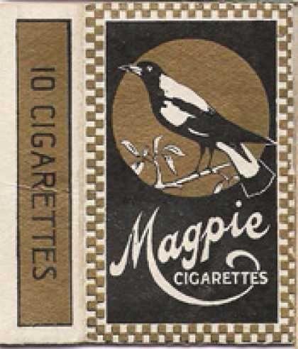 Magpie Cigarettes.