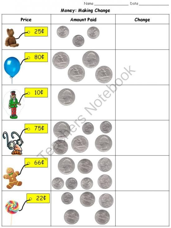 money for grades Mr anker: comparing money set 4 click image to enlarge : compare the amounts of money and click on the symbol (, , =) that makes the statement true try set 2.