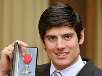 England Test skipper Alastair Cook awarded Order of the British Empire :http://gktomorrow.com/2017/02/05/alastair-cook-awarded/