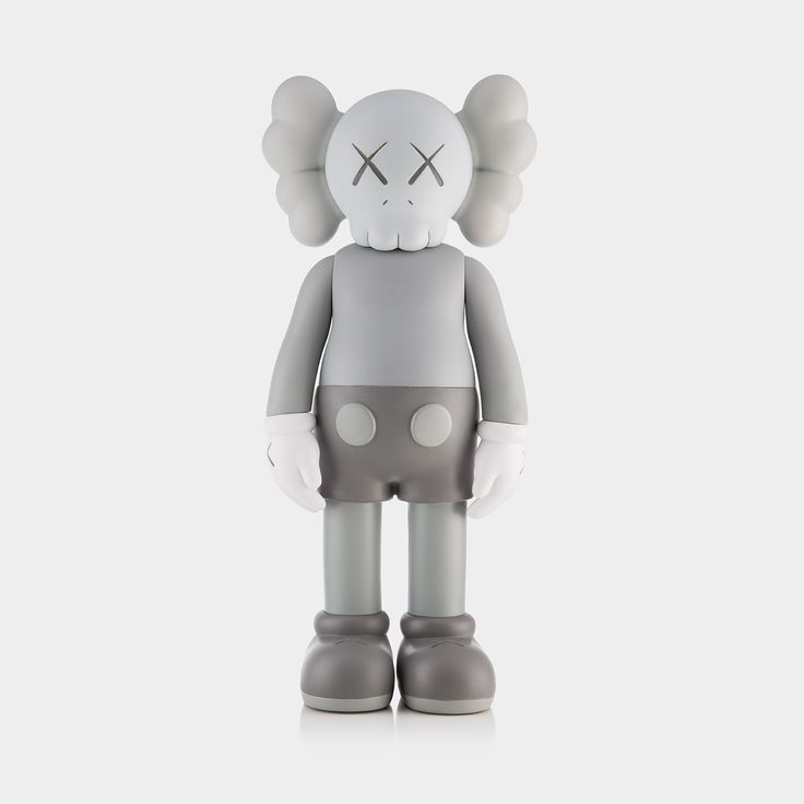 KAWS COMPANION (OPEN EDITION) – Grey:  Following our major 2016 exhibition we joined up with KAWS to give you the chance to own a KAWS COMPANION.