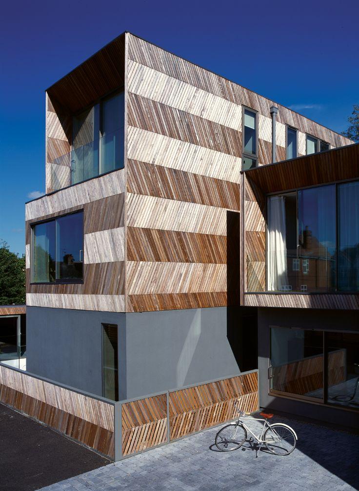 Herringbone Houses / Alison Brooks Architects