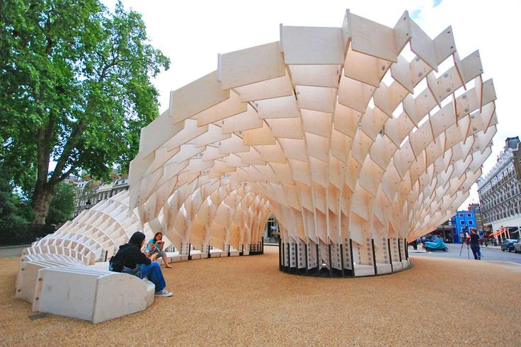 10 Temporary Wooden Pavilions That Push Timber to the Limits - Architizer
