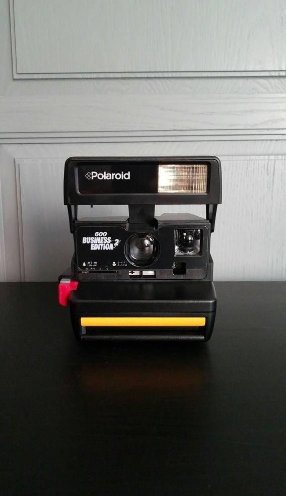 Check out this item in my Etsy shop https://www.etsy.com/listing/572912196/polaroid-camera-600-business-edition-2