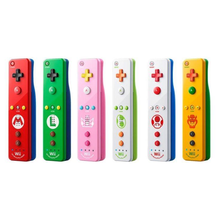 Nuevo Wii Remote Plus Nintendo Wii U Varios Colores