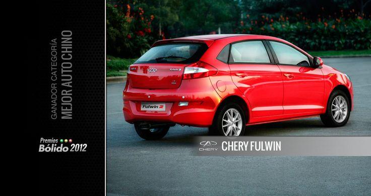 Premios Bólido 2012: Chery Fulwin fue el mejor Auto Chino