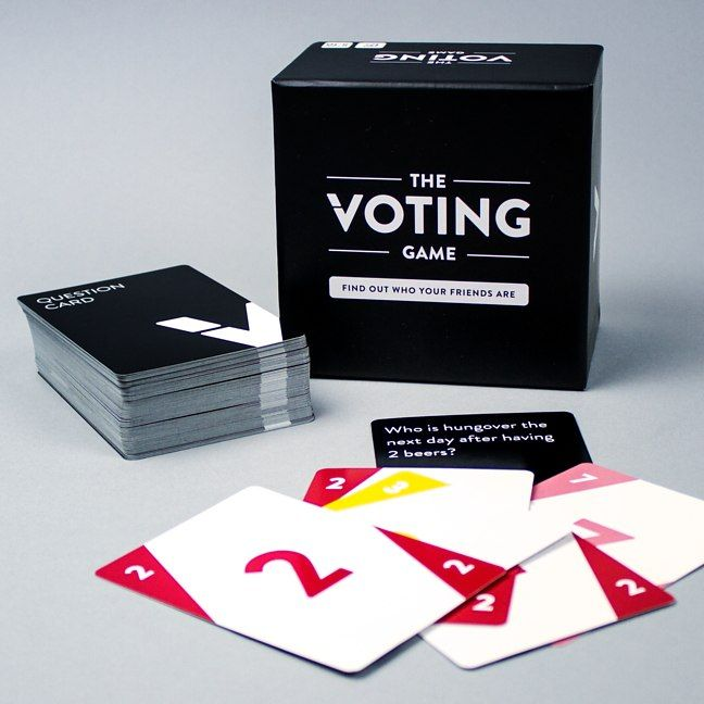 Prepare your nerves for a good solid shredding The Voting Game is about to uncover the hilarious truth behind all your friendships. Each player is assigned a