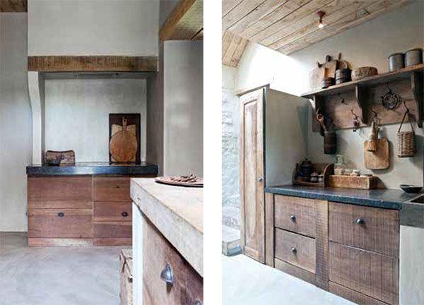 Keuken oud land maison design obas