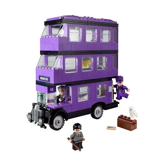 LEGO Harry Potter The Knight Bus, I have this! one of my favourite sets :D awesome colour too.