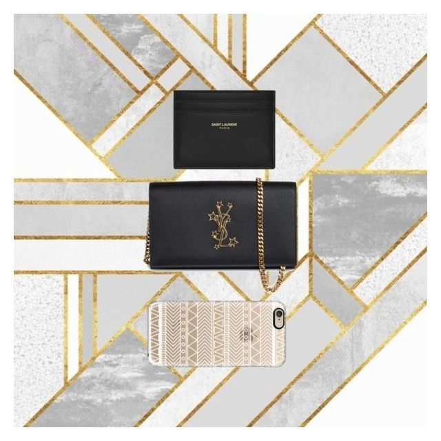 Statement bag by ioana-constantin-1 on Polyvore featuring Yves Saint Laurent and Casetify