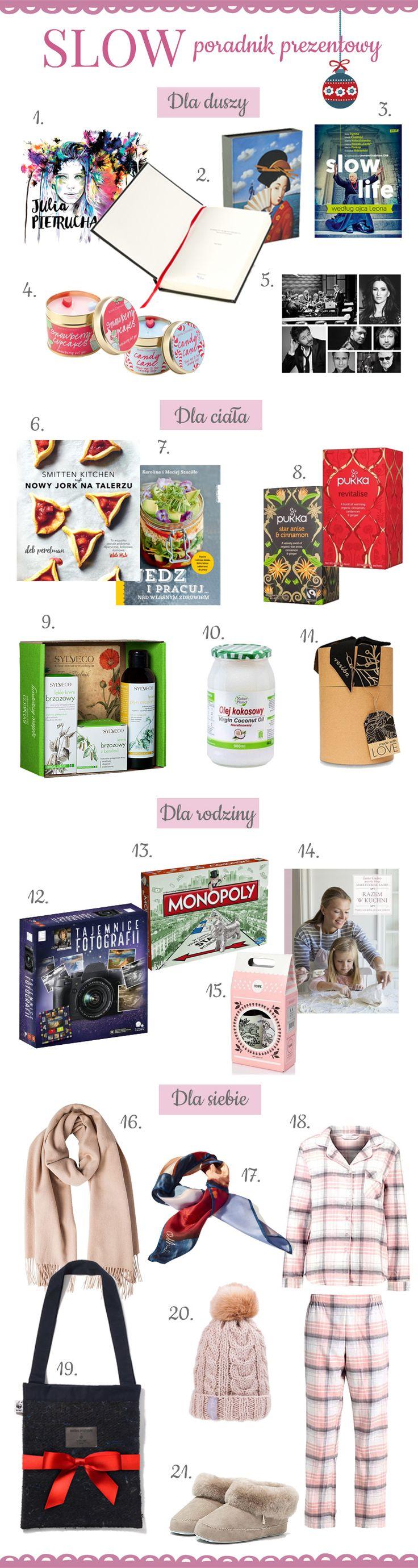 propozycje świątecznych prezentów / gift ideas