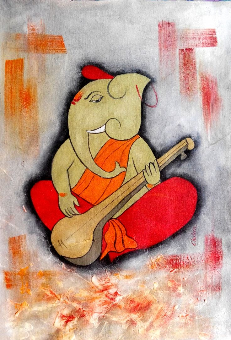 """""""Kapila"""" Paintings Series of Lord Ganesha by Artist Chetan Katigar has just been added on colourentice.com http://colourentice.com/Chetan-Katigar.php For any further details please call us at +91 9920042242 or write to us at live@colourentice.com, we are happy to assist you. #Art #Paintings #Religious #Ganesha"""