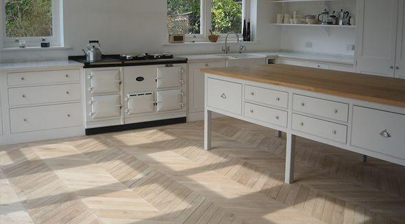 Eco Flooring UK | Reclaimed Exquisite French Oak Chevron