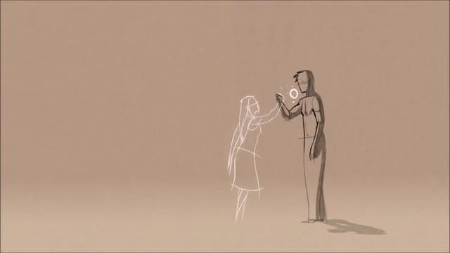 """Animated short film """"Thought of You"""" by Ryan Woodward with music from Salvador Sobral """"Amar Pelos Dois"""" (Portugal Eurovision Song Contest 2017).     Original short film in the link -> https://www.youtube.com/watch?v=OBk3ynRbtsw"""