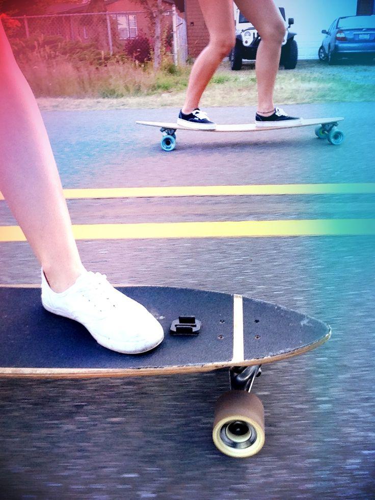 skater girls, skateboarding, longboarding, tomboy at heart Umm that equals me!!!