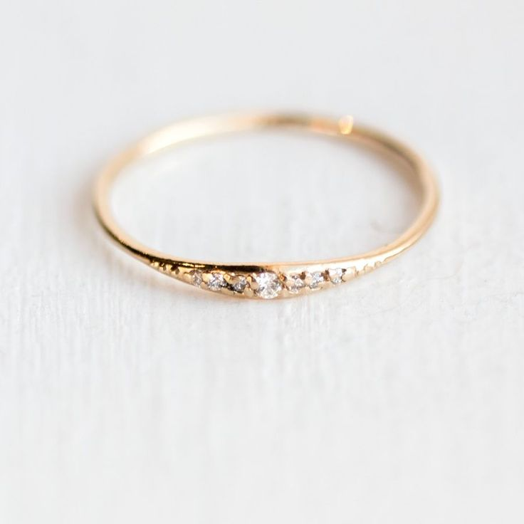 best 25 simple rings ideas on dainty gold