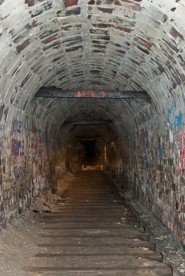 Abandoned Haydenville Tunnel Circa Late 1800 S Mid 1900