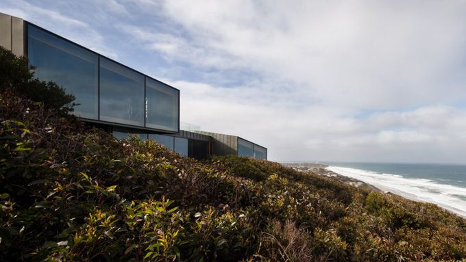 Fairhaven Beach House - Zinc and glass exterior - really long lasting and low maintenance