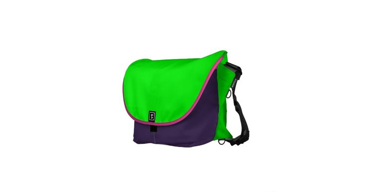 Green Purple and Pink Rickshaw Bags Pick your size!