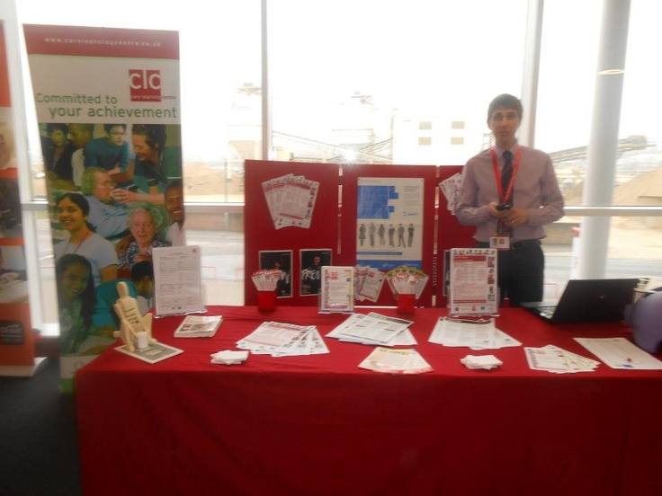 CLC celebrating the National Apprenticeship Week 2013 at St Mary's Stadium, Southampton.