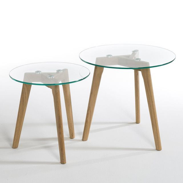 25 best ideas about tables basses avec miroir sur pinterest - Bout de canape la redoute ...