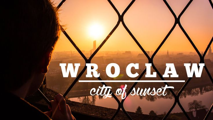 Wrocław - city of sunsets 4K/UHD