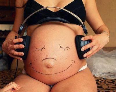 Para retratarnos durante el embarazo