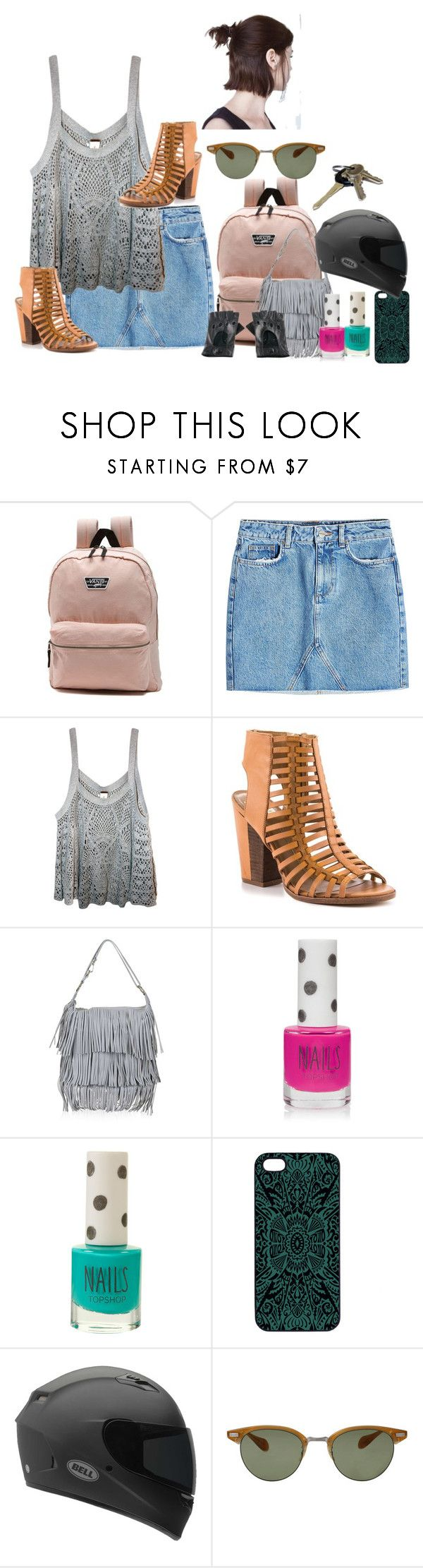 """""""Sammi McCall 3.1x1"""" by samtiritilli666lol ❤ liked on Polyvore featuring Vans, Anine Bing, Free People, Dolce Vita, Topshop, Samantha Warren London, Oliver Peoples and Black"""