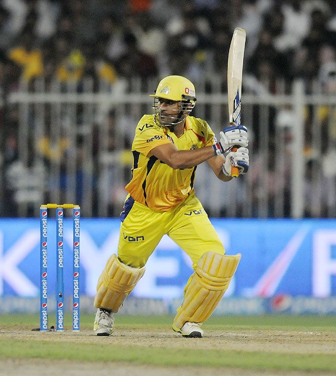 Power Shot by MS Dhoni
