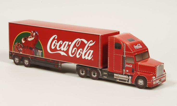 Coca Cola Papiermodell Rechts (Papiermodelle) Tags: papercraft papermodel papiermodell bastelbogen werbeartikel