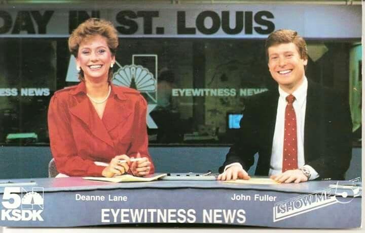 Dianne Lane And John Fuller Ksdk 1986 St Louis