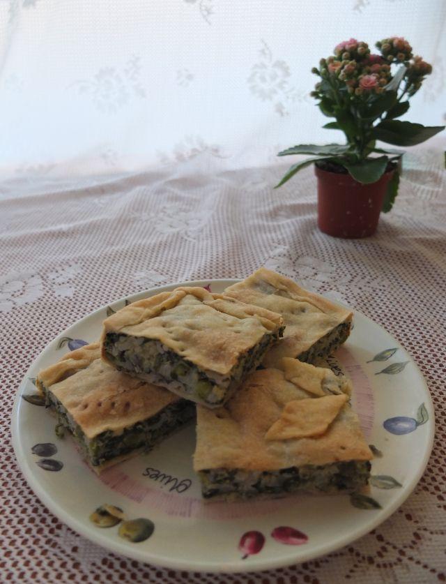 Torta di verdura #Italian #vegetarian #cake #recipe