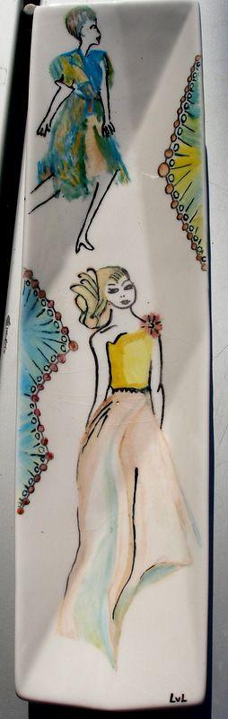 beschilderd porselein ( naar vb van NN)