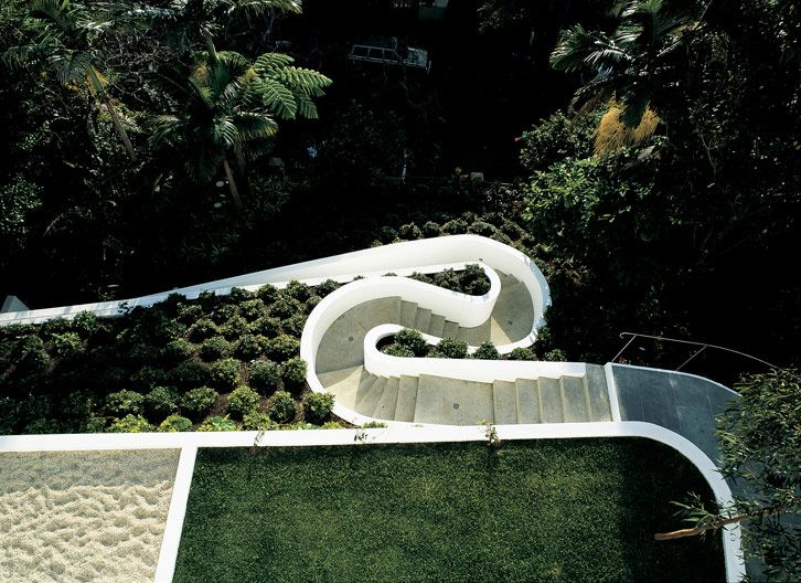 Landscaping - HOUSE SPRY - Durbach Block Architects
