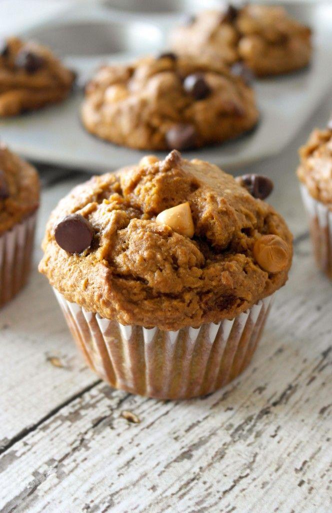 Healthy Pumpkin Pie Muffins. Yum!