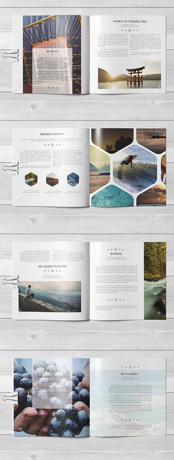 Multipurpose Square Brochure on Behance