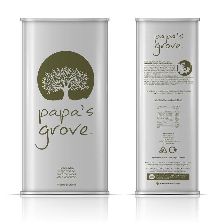 olive oil extra virgin olive oil papa's grove papasgroveGreece Peloponnisos Koroneiki Manaki high class high quality healthy tastySingaporeJapan5 litre tin