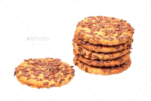 Cookies with flax seeds - Stock Photo - Images Download here : https://photodune.net/item/cookies-with-flax-seeds/20085274?s_rank=35&ref=Al-fatih