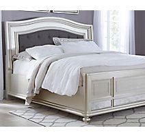 Coralayne – Grand lit à panneaux