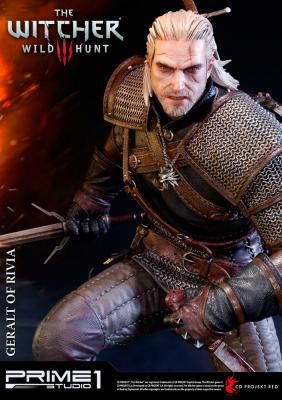 Estatua Geralt of Rivia 66 cm. The Witcher 3: Wild Hunt. Prime 1 Studio Foto 1