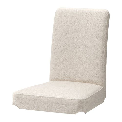 IKEA - HENRIKSDAL, Chair cover, The cover is easy to take off and put on. $26  White version. the beige might be easier with sticky fingers!