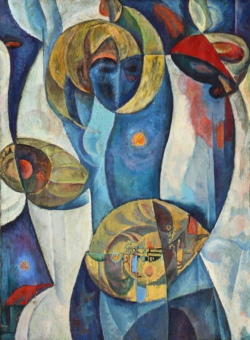 Beautiful Mixed Colour Cubism from $31.99   www.wallartprints.com.au #CubistArt #WallArtPrints