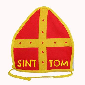 Maak een persoonlijke mijter van Sinterklaas met je eigen naam!