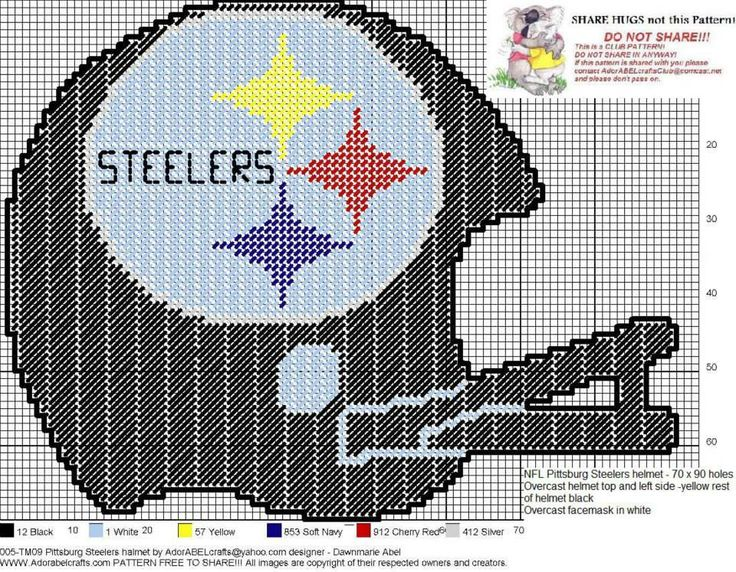 PITTSBURGH STEELERS HELMET by DAWNMARIE ABEL