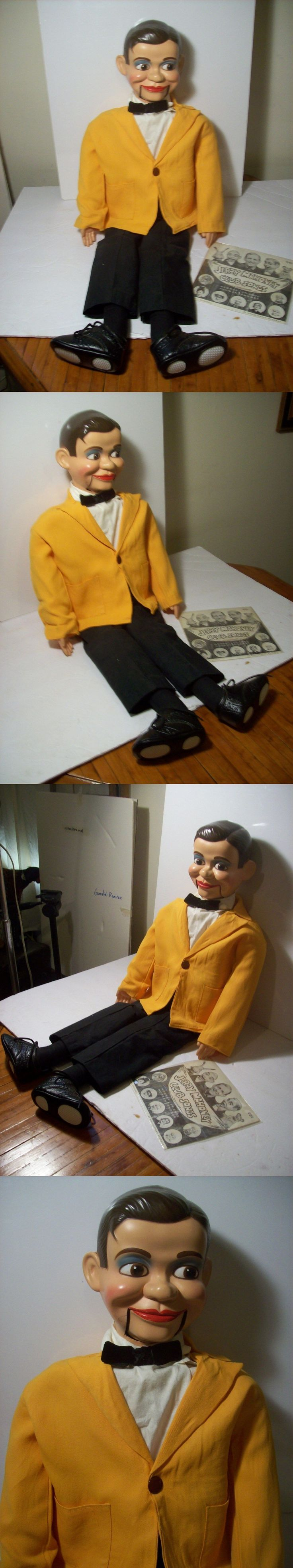 Character 723: Jerry Mahoney Ventriloquist Dummy Doll Puppet Paul Winchell 1963 -> BUY IT NOW ONLY: $199.99 on eBay!
