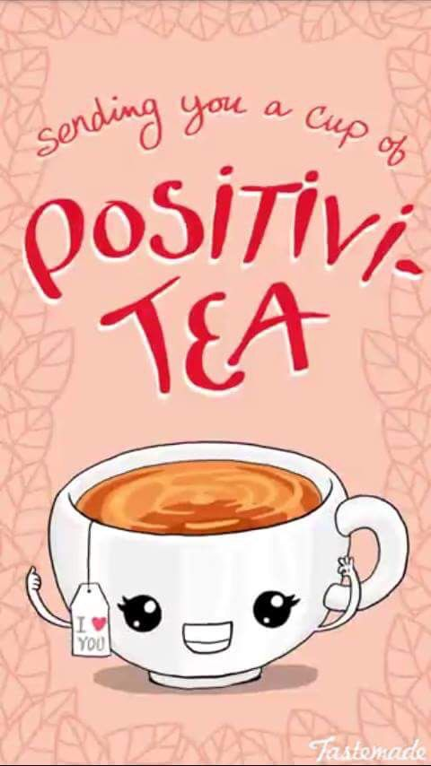 Because that is important to energize your soul Have a cup of positivi-tea everyday and see for yourself✌️