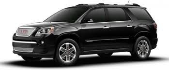 2012 GMC Denali Arcadia. Amazing interior for this size of SUV. Very comfortable ride and the Denali package was worth the extra money.