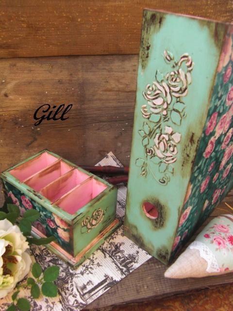 """Купить Набор """"Sentimental"""" - подставка для бумаг, подставка для журналов, подставка для пультов, подарочный набор, для телефонов"""